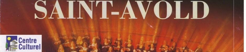 Répétition du grand chœur du festival de St Avold.